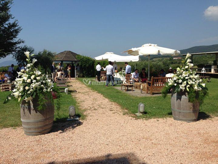Matrimonio Casale Toscana : Il casale del mare