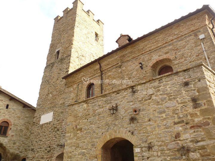 Facciata Castello Giomici