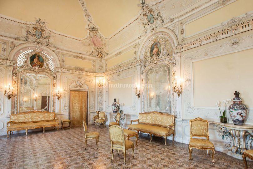 Castello di tabiano - Sala degli specchi ...