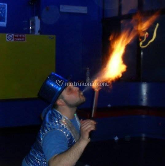 Spettacolo fuoco