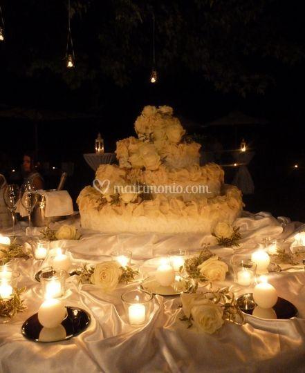 Wedding cake 4 piani