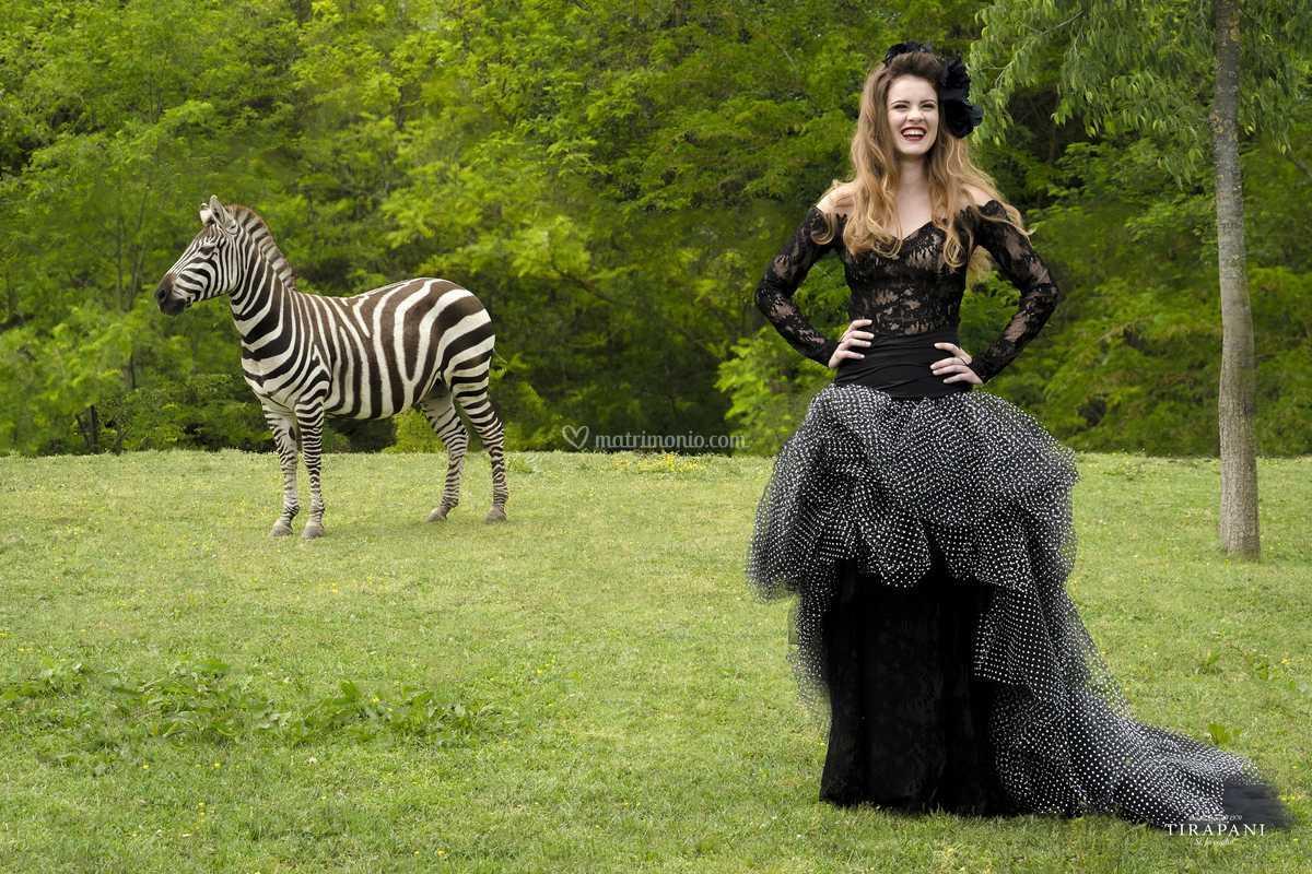 Vestito Da Sposa Zebrato.Abito Da Sposa Naomi Di Tirapani Foto 108