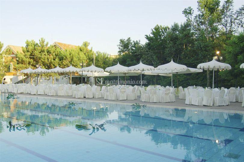 Locanda delle dune for Matrimonio bordo piscina