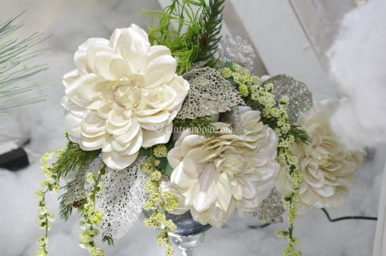Gardenia Bouquet Sposa.La Gardenia