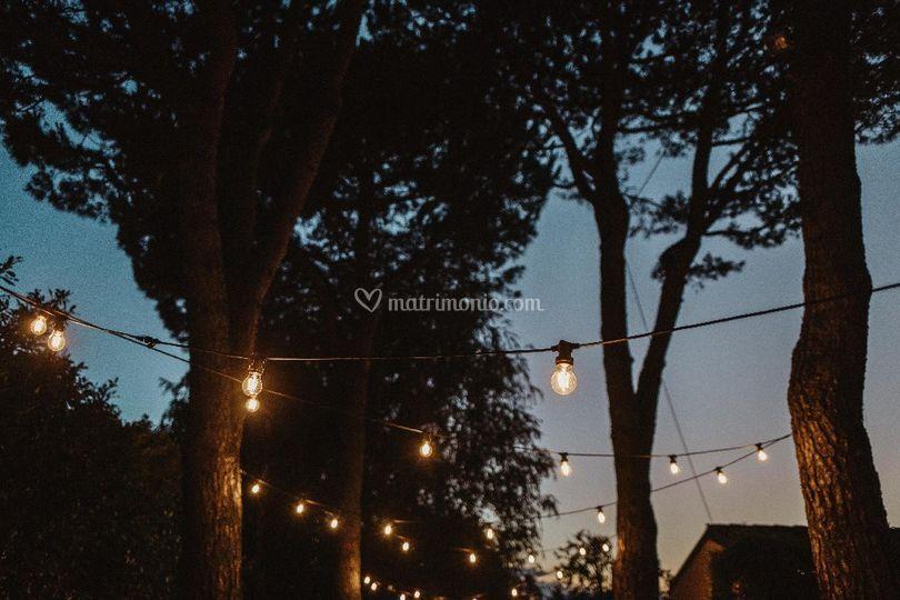 Le luci,  l'atmosfera