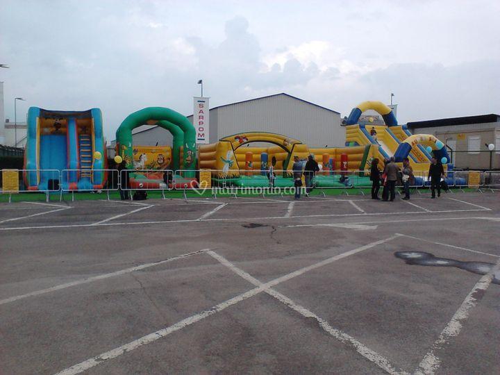 Parco gonfiabile