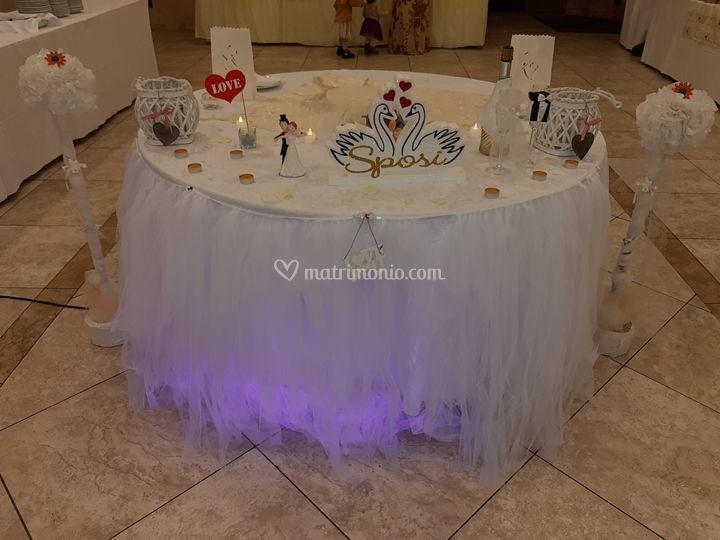 Il ns tavolo torta tipo