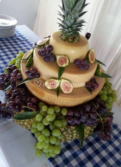 Piramide di formaggio