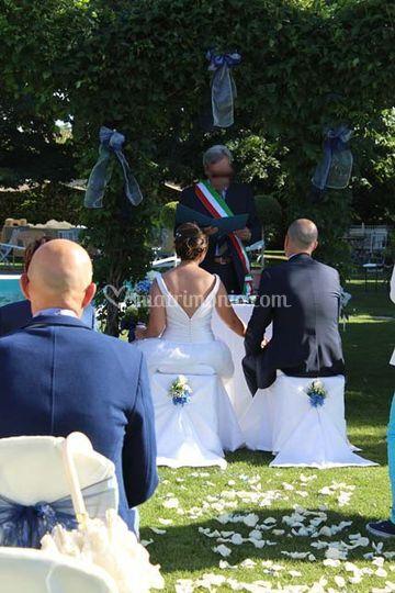 Il Sindaco celebra un matrimon