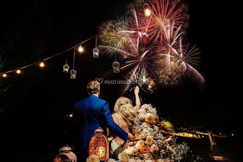 Fireworks at the Tenuta