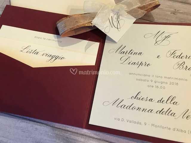 Partecipazioni Matrimonio Tema Vino.Partecipazione Tema Vino Di Chiara Grandino Group Foto 16