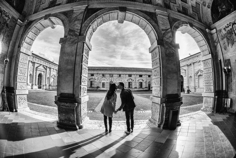 Prematrimonio a Palazzo Te Mn