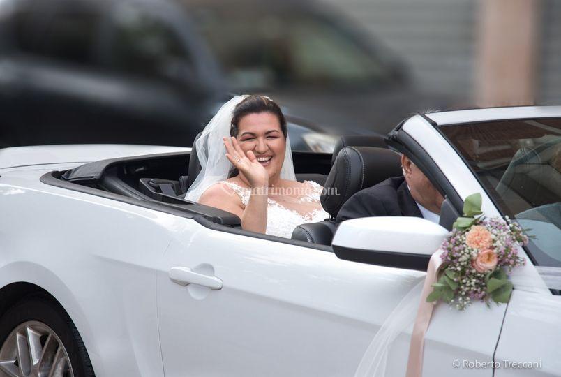 Arrivo sposa © Roberto Treccan