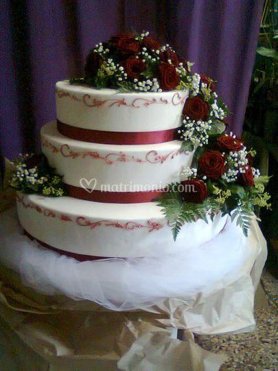 Dettaglio wedding cake