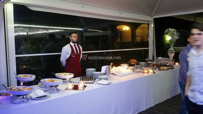 Mice en place di amis catering banqueting foto for Menu reception amis