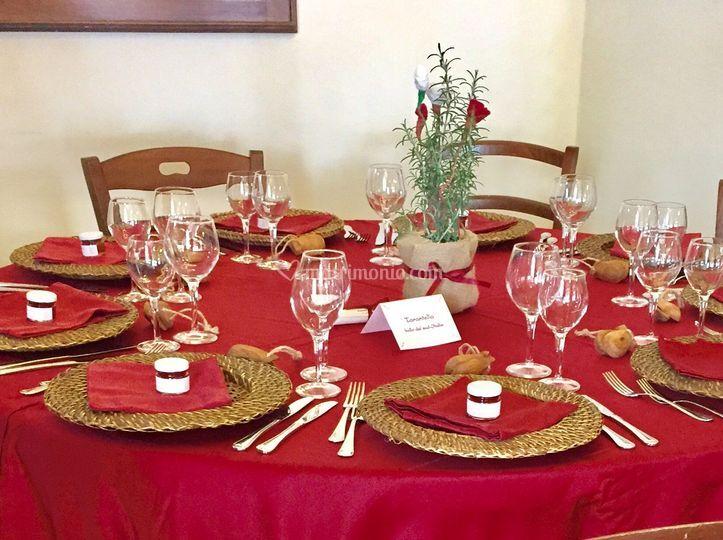 Tavolo rosso