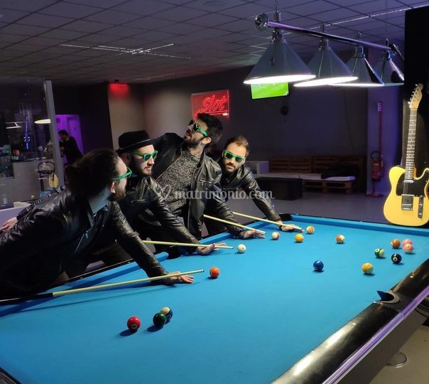 Our billiard's team