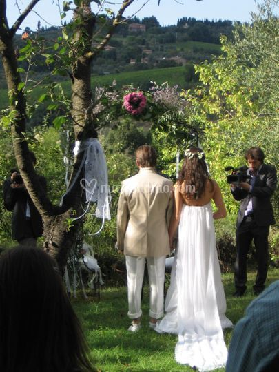 Matrimonio Simbolico University : Villa certano