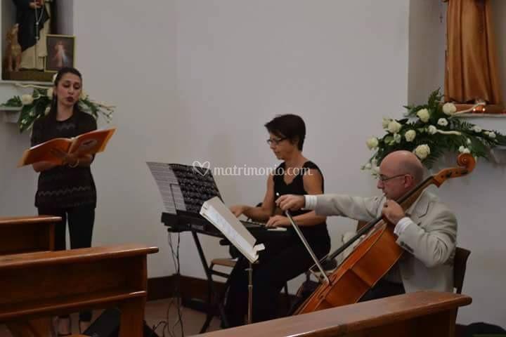 Soprano Organo e Violoncello