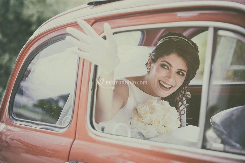 La sposa in 500