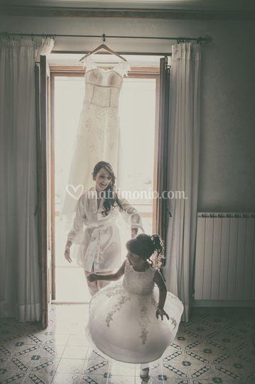 Sposa e damigella