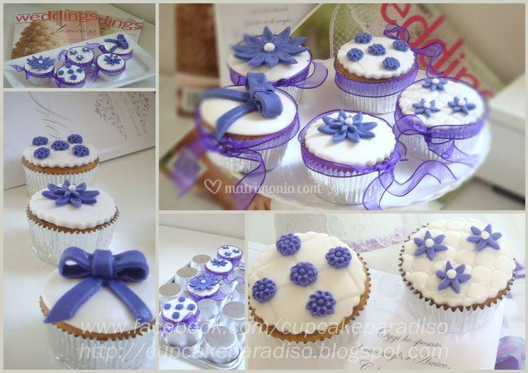 Cupcakes per matrimonio