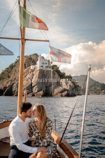 Proposal in Portofino