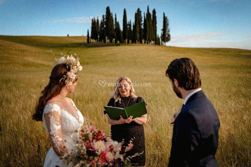 Tuscany - Val d'Orcia Wedding