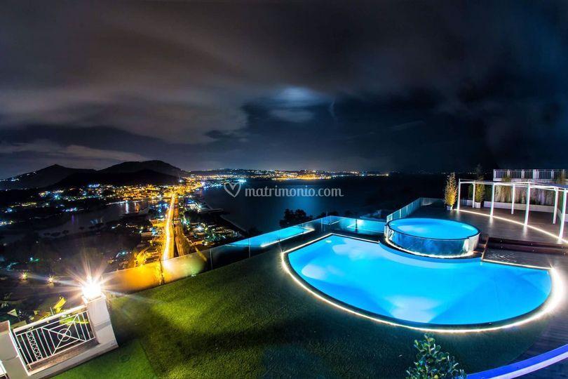 Esterni con piscina