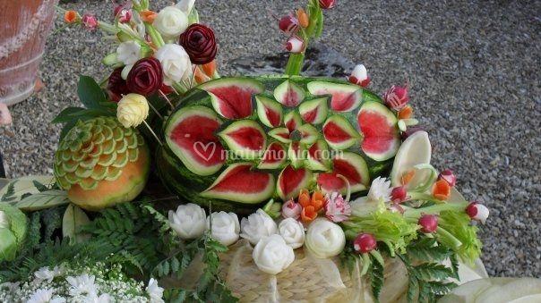 La frutta intagliata