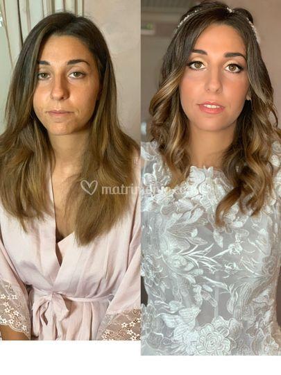 Elisa prima e dopo