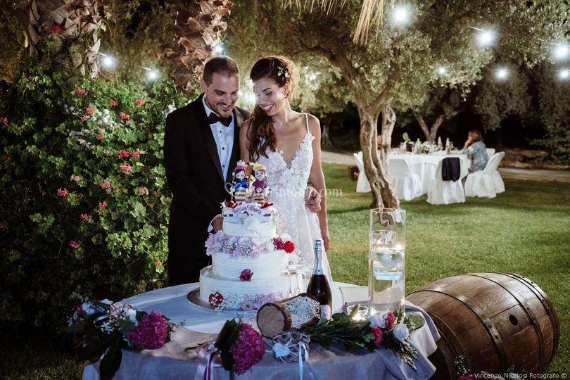 Foto wedding cake
