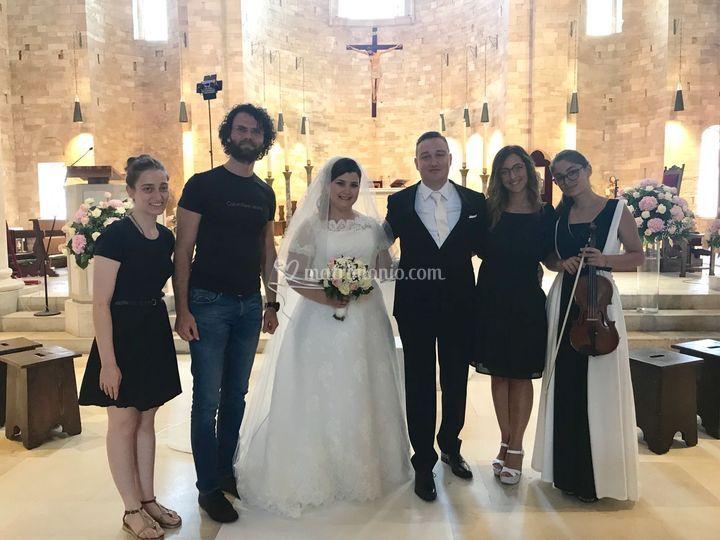 Rosa e Adriano sposi