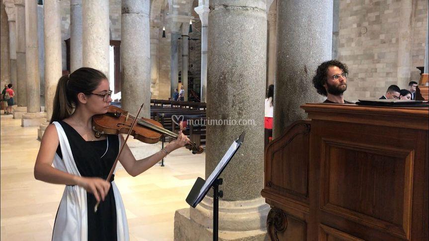 Violinista e Organista
