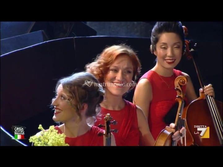 Trio d'archi in tv