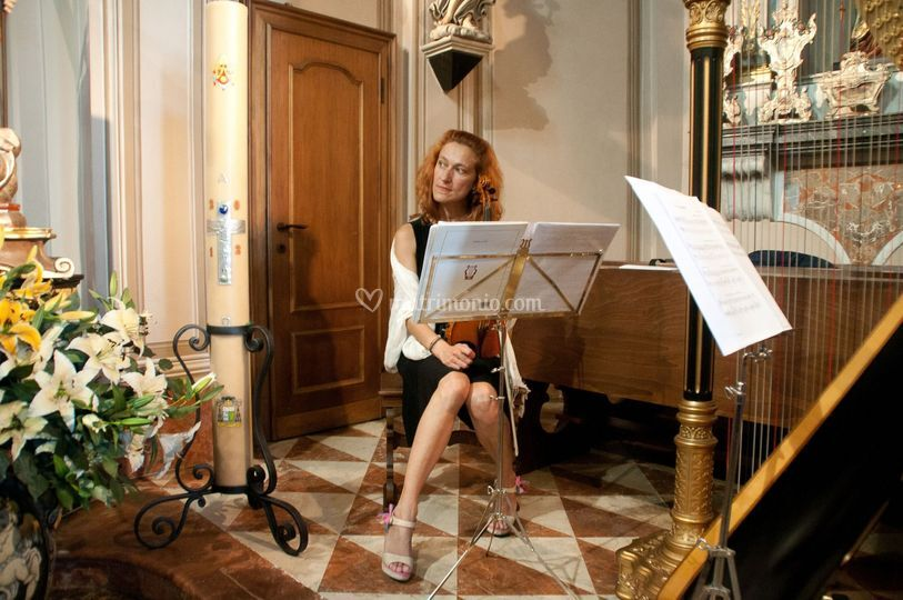 Violino, soprano e trio d'archi per cerimonia