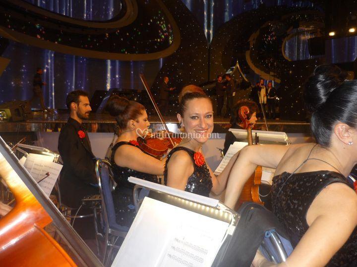 In orchestra Festival Sanremo
