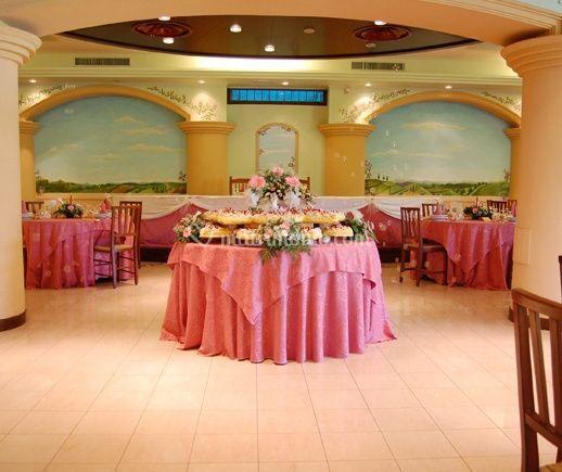 Il tavolo degli sposi