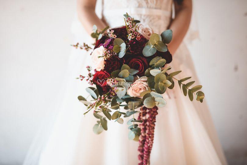 Bouquet in Tema Vino