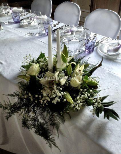 Matrimonio Tema Giardino Segreto : Centrotavola sposi di il giardino segreto foto