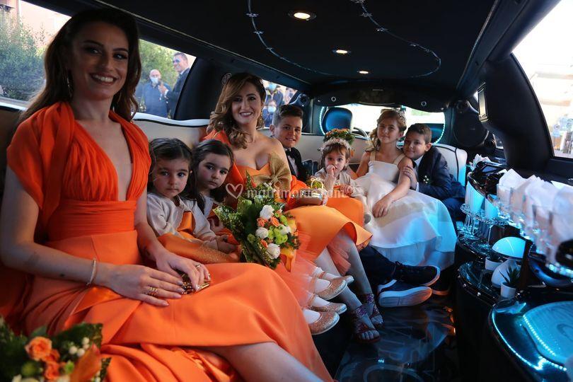 Tutti in limousine