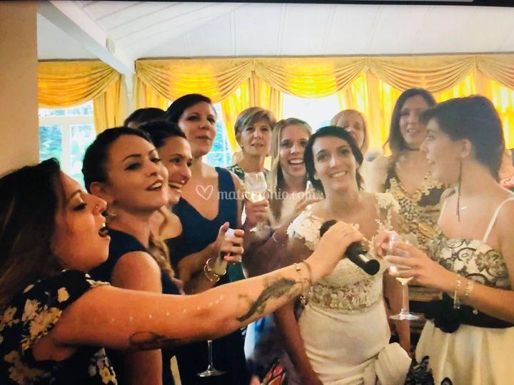 Il karaoke con La Sposa !