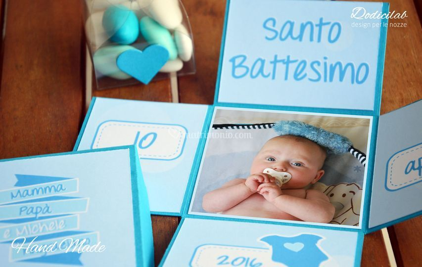 Bomboniere battesimo bimbo