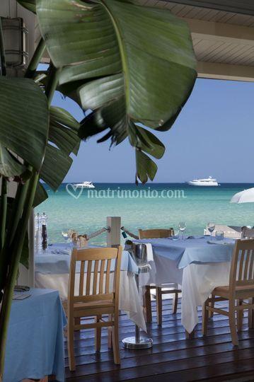 Beach restaurant Marinella