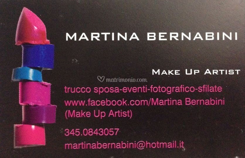 Preferenza Martina Bernabini Make Up Artist ZS74