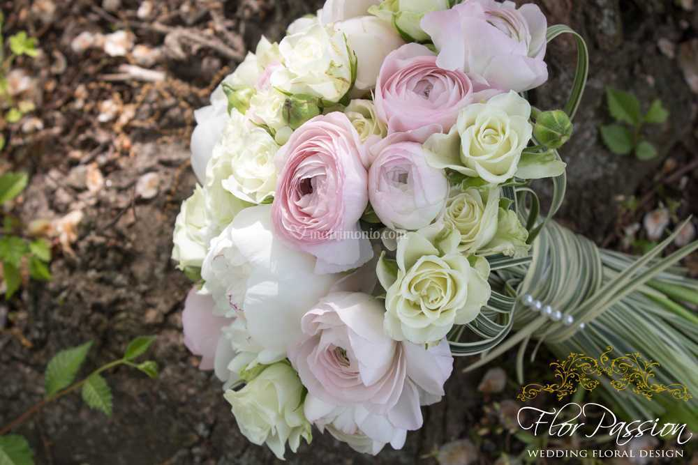 Bouquet Sposa Milano.Bouquet Sposa Peonie Ranuncoli Di Florpassion Foto 143