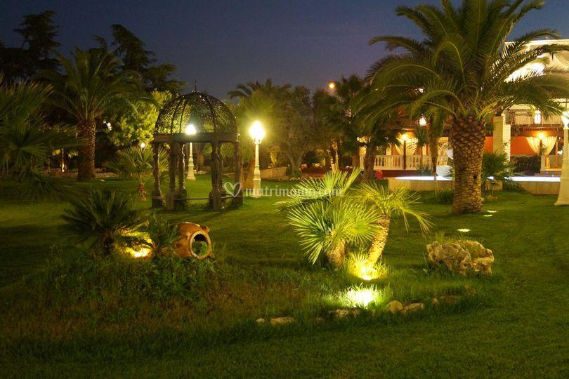 Giardino di sera