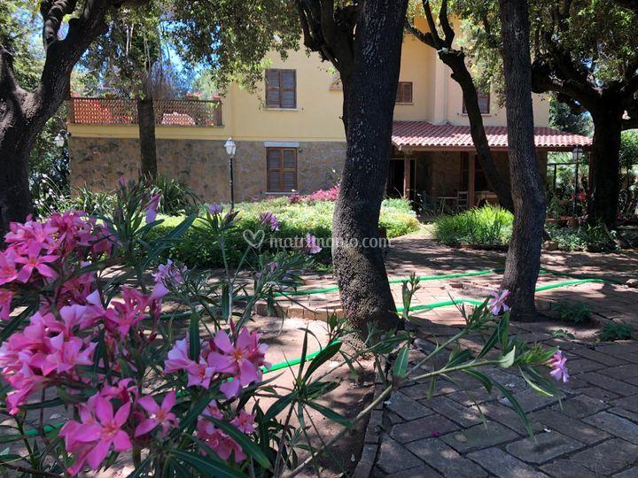 La villa nel giardino