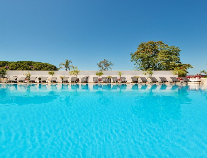 Piscina superiore di meridiana hotel paestum foto 22 - Hotel paestum con piscina ...