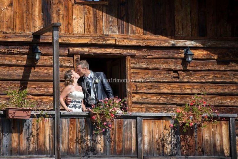 Sposi terrazza